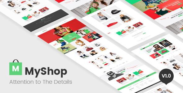 MyShop – multi layout style OpenCart theme (Style)