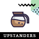 UpStanders Cafe | Coffee Shop PSD Template