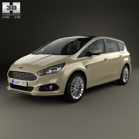 Ford S-Max 2015 - 3DOcean Item for Sale