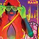 Neon Night Flyer