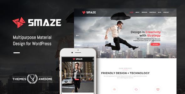 Smaze - Multipurpose Modern Theme