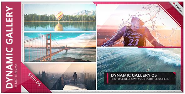 VideoHive Dynamic Gallery Photo Slideshow 19571022