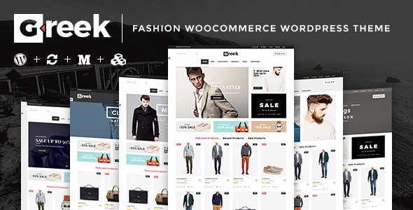 VG Greek - Fashion WooCommerce WordPress Theme