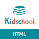 Kidschool - Kids & Kindergarder School HTML Template