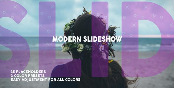 VideoHive Modern Dynamic Slideshow 19572543