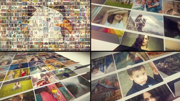 VideoHive Folding Photos Slideshow 19572545