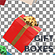Xmas Gift Boxes Loop Background