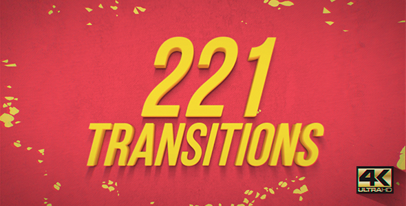 Videohive - Big Pack Transitions 19553929 - Free Download