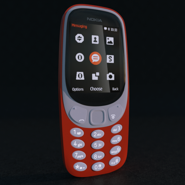 Nokia 3310 (2017) - 3DOcean Item for Sale