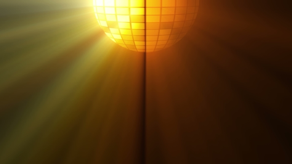 VideoHive Abstract Background with Disco Ball and Lights 19573646