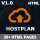 HostPlan - Web Domain Hosting WHMCS HTML5 Template