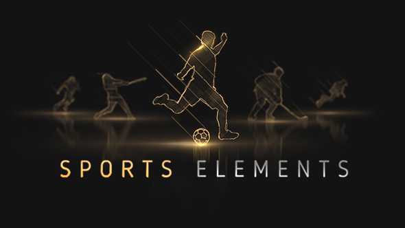 Sports Elements (Pack 360+) (Sports) After Effects Templates