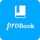 ProBook - Book Landing Page PSD
