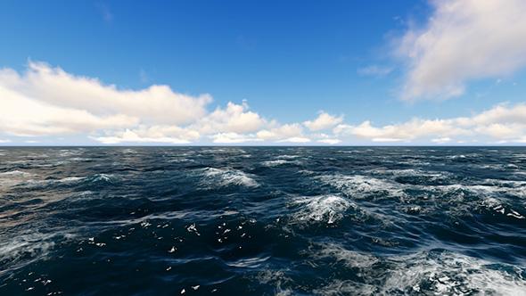 VideoHive Ocean Waves And Sky 19565062