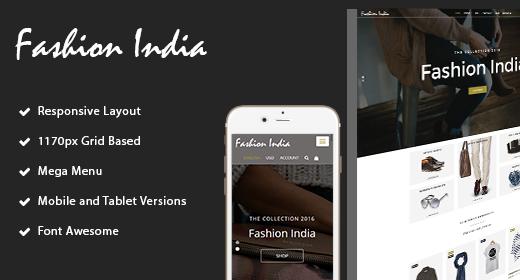 fashion-India Shop HTML Template
