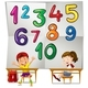 Children and Numbers One to Ten
