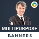 HTML5 Multi Purpose Banners - GWD - 7 Sizes(BEE-CC-100)