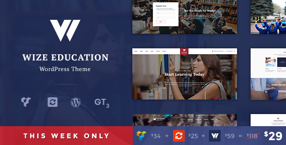 Download Education | Courses & Events LMS WordPress Theme - WizeEdu