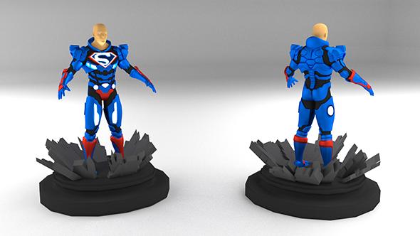 3DOcean Lex Luthor Superman Suit 19576039
