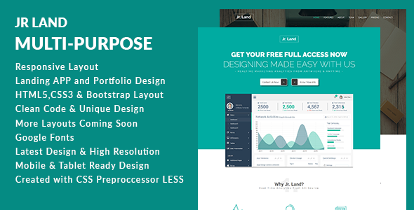 JR Land | Multi-Purpose Responsive Template
