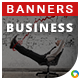 HTML5 Business Banners - GWD - 7 Sizes(ELITE-CC-131)