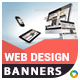 HTML5 Web Design & Agency Banners - GWD - 7 Sizes(ELITE-CC-132)