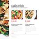 Deluxe Food Menu + A4 Flyer Menu