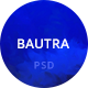 Bautra Multipurpose PSD Template