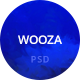 Wooza Multipurpose PSD Template