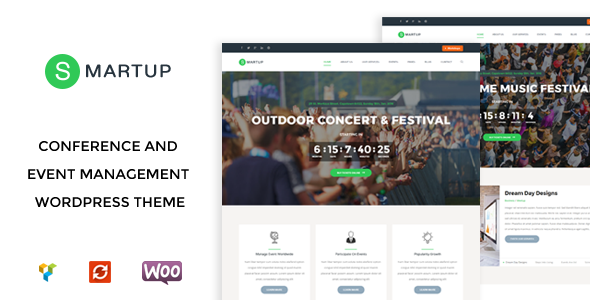 Image of Smart Up - Conference & Event Management WordPress Theme