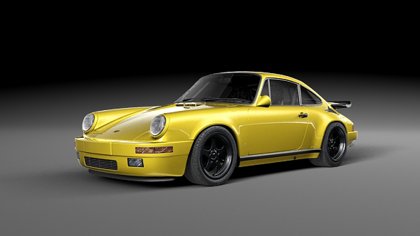 RUF CTR Yellowbird - 3DOcean Item for Sale
