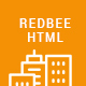 Redbee | Construction HTML Template