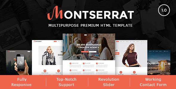 Montserrat - Multipurpose Modern HTML Template