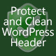 Protect and Clean WordPress Header