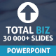 Total Biz Powerpoint Presentation Template