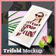 Fashion Trifold Mockup