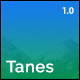 Tanes - Creative Coming Soon Template
