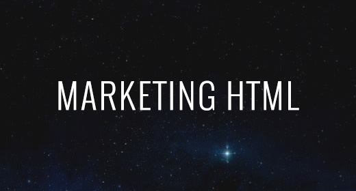 MARKETING HTML