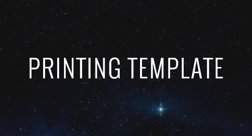Printing Template