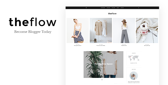 TheFlow – Blog HTML Template (Personal) images