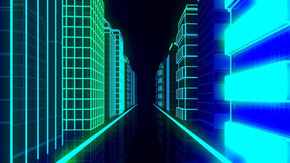 VideoHive City Night Neon 19581293