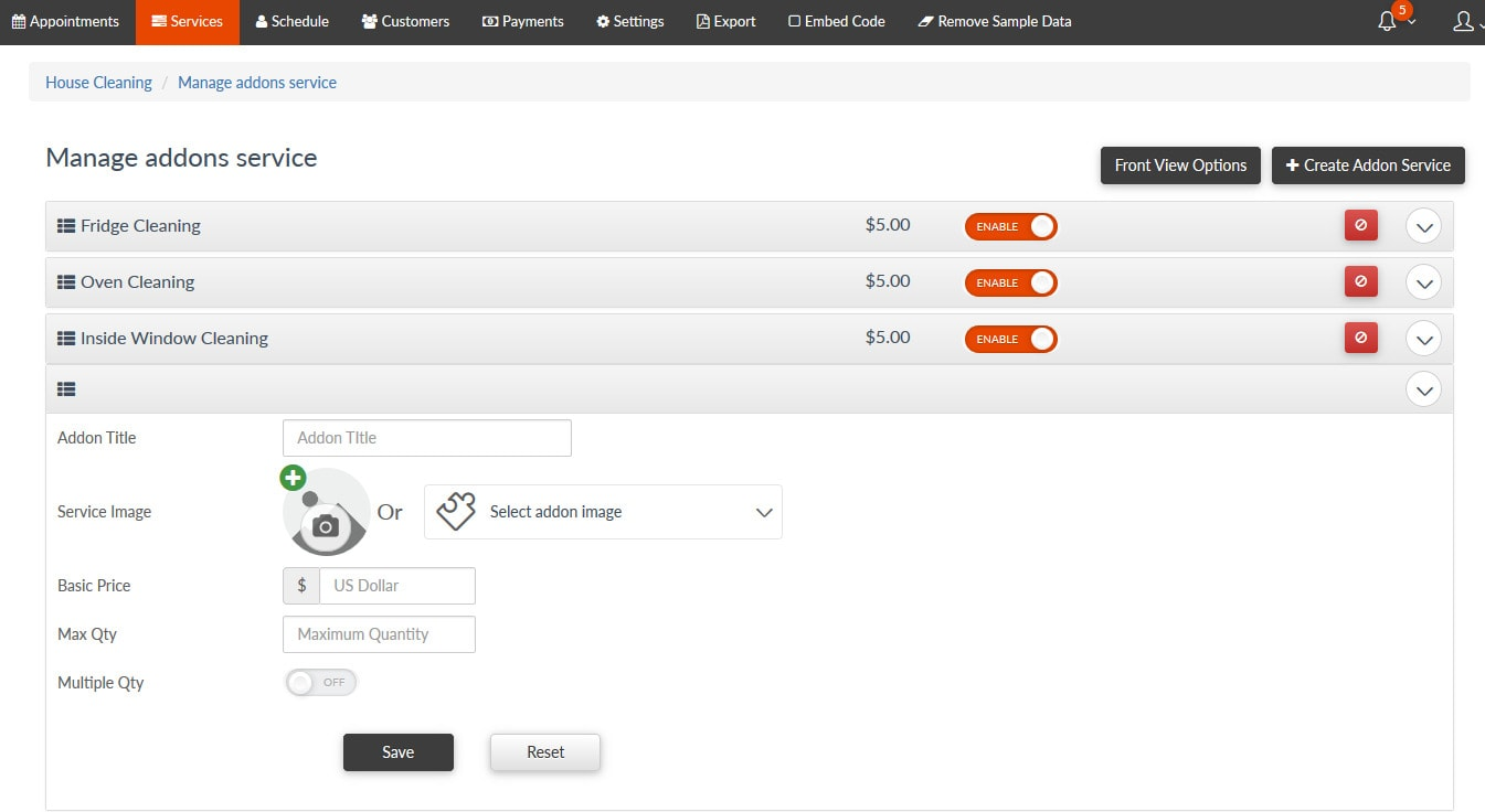 cleanto appointment booking system by skymoonlabs codecanyon services add ons jpg