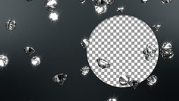 VideoHive Diamonds Loop Background 19581363