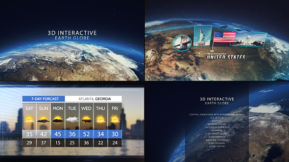 Infographics - Free After Effects Templates