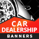 HTML5 Car Dealership Banners - GWD - 7 Sizes(NF-CC-152)