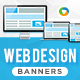 HTML5 Design Agency Banners - GWD - 7 Sizes(NF-CC-153)