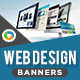 HTML5 Web Design Company Banners - GWD - 7 Sizes(NF-CC-155)