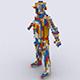 Soldier40 Pixel Brick Model