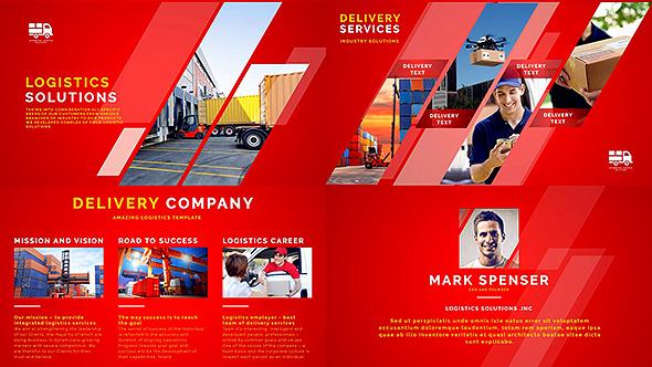 VideoHive Logistics Company Delivery Promo 19582572