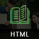 Edu Course- HTML Template for education and online training
